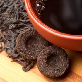 Фото: Китайский чай «Пуэр» (кит. 普洱) [pǔěr].