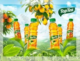 Фото: Чай «Top Tea» в литровых упаковках.