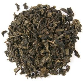 Фото: Китайский чай «Улун» (кит. 烏龍) [wūlóng] / «Темный дракон» / «Oolong».