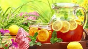 Фото: Кувшин с холодным чаем (Ice tea).