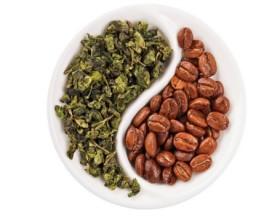 Фото: Кофе и чай как Инь и Янь.