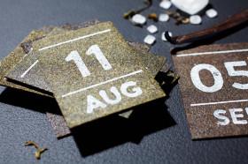Фото: Чайный отрывной календарь.