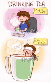Фото: Чаепитие — как оно выглядит, как оно ощущается.