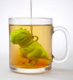 Фото: Ситечко «Tea Rex Tea Infuser».