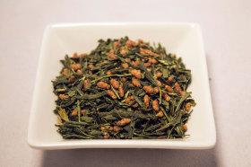 Фото: Чай «Genmaicha» (японский «Yanagi Bancha» с поджаренным коричневым рисом).