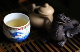 Фото: «Чайный питомец» (tea pet) — дракон.