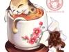 Фото: Да Хун Паовая чай-кошка.