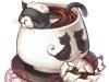Фото: Пуэровая чай-кошка.