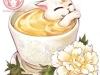 Фото: Пионовая чай-кошка.